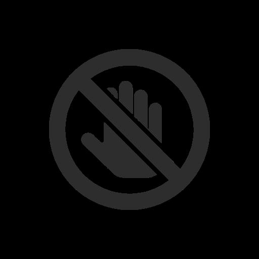 icon-no-touching