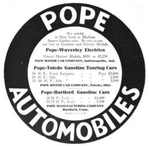 Pope Auto Ad