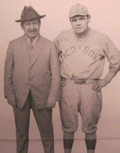 Page with Babe Ruth